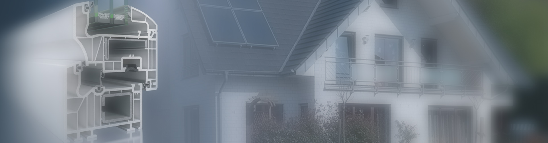 Okna PCV i aluminium na profilach Schüco